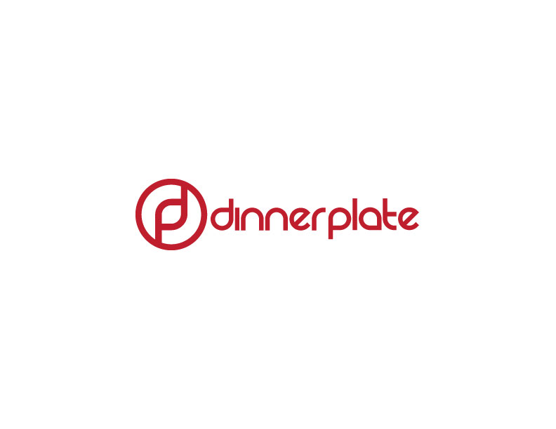 Logo Design by Mahir Hamzic - Entry No. 51 in the Logo Design Contest Imaginative Logo Design for Dinner Plate.