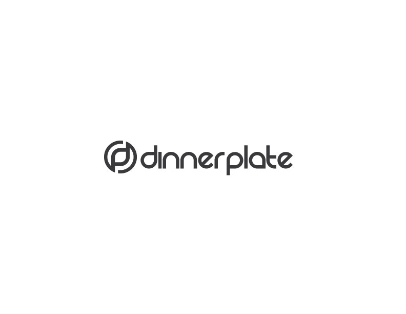 Logo Design by Mahir Hamzic - Entry No. 54 in the Logo Design Contest Imaginative Logo Design for Dinner Plate.