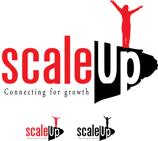 Logo Design by Lefky - Entry No. 12 in the Logo Design Contest Logo Design for scaleUp a consulting & event management company.