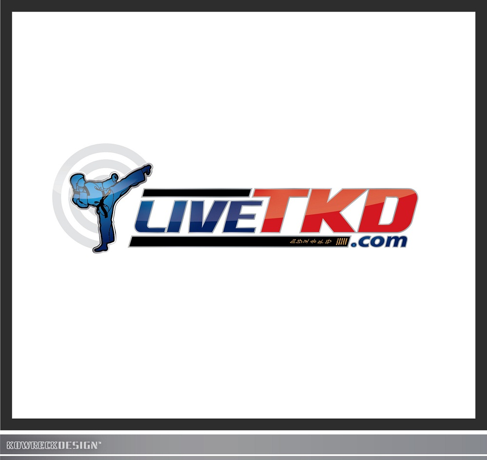 Logo Design by kowreck - Entry No. 62 in the Logo Design Contest New Logo Design for LiveTKD.com.