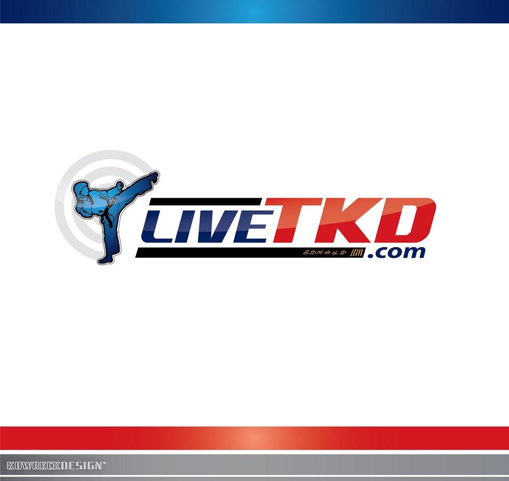 Logo Design by kowreck - Entry No. 63 in the Logo Design Contest New Logo Design for LiveTKD.com.