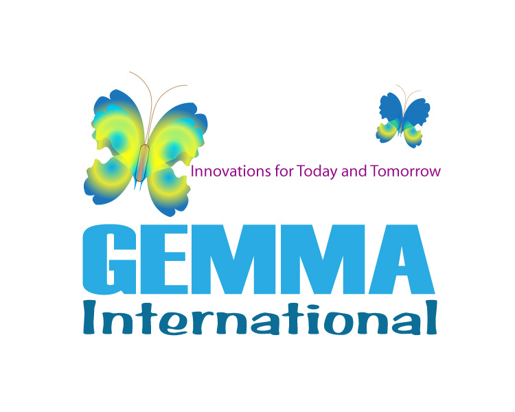 Logo Design by Diana Roder - Entry No. 61 in the Logo Design Contest Artistic Logo Design for Gemma International.