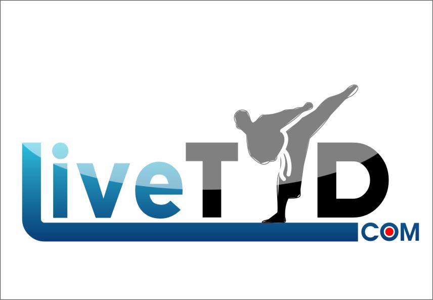 Logo Design by Ngepet_art - Entry No. 67 in the Logo Design Contest New Logo Design for LiveTKD.com.