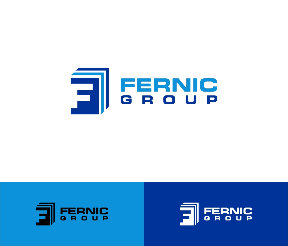 Logo Design by haidu - Entry No. 19 in the Logo Design Contest Artistic Logo Design for Fernic Goup.