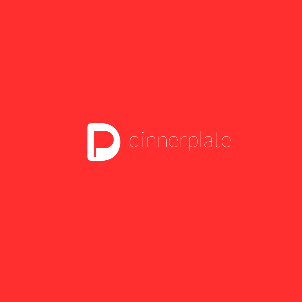 Logo Design by Bobby Yoga P - Entry No. 58 in the Logo Design Contest Imaginative Logo Design for Dinner Plate.