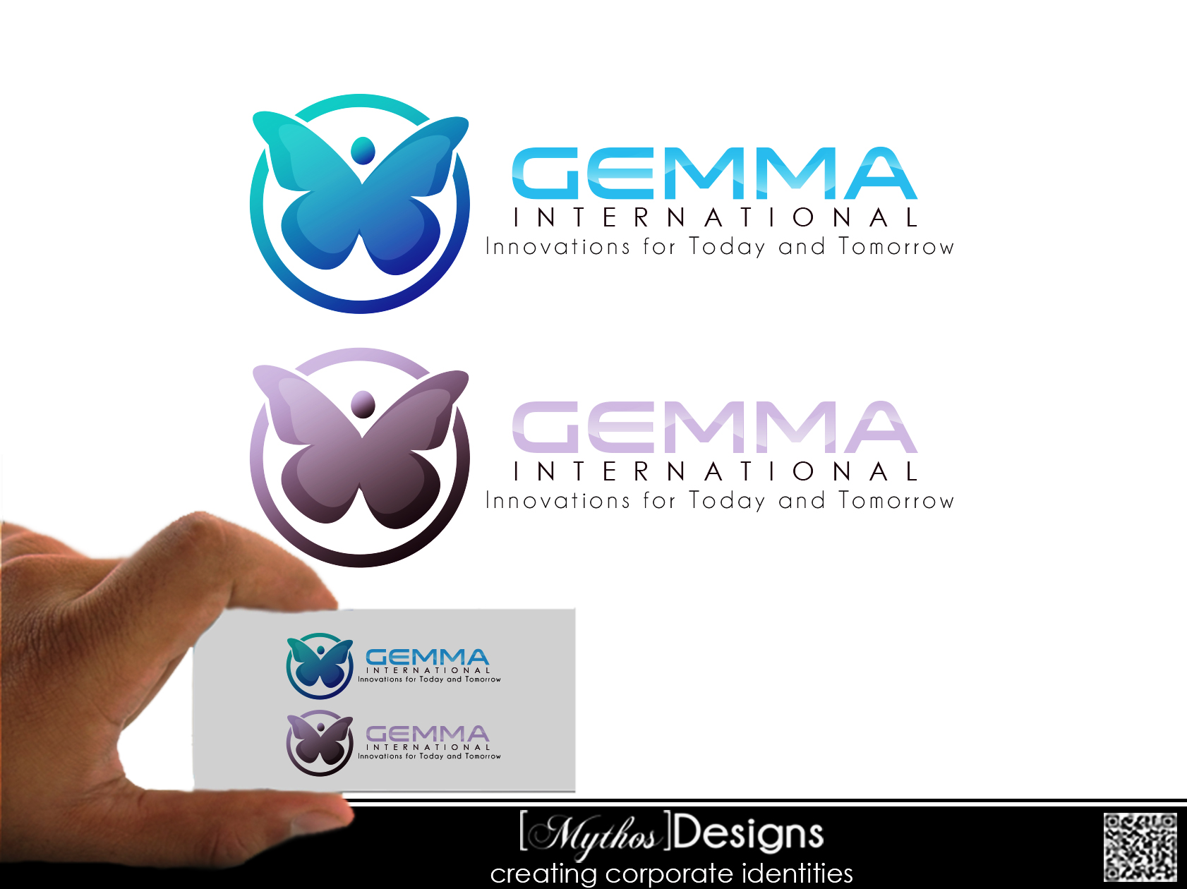Logo Design by Mythos Designs - Entry No. 67 in the Logo Design Contest Artistic Logo Design for Gemma International.