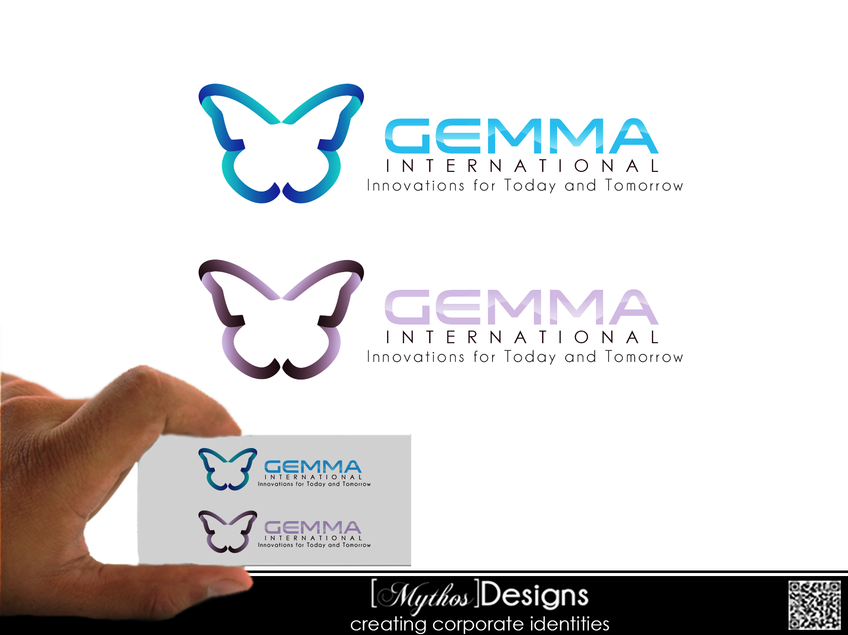 Logo Design by Mythos Designs - Entry No. 70 in the Logo Design Contest Artistic Logo Design for Gemma International.