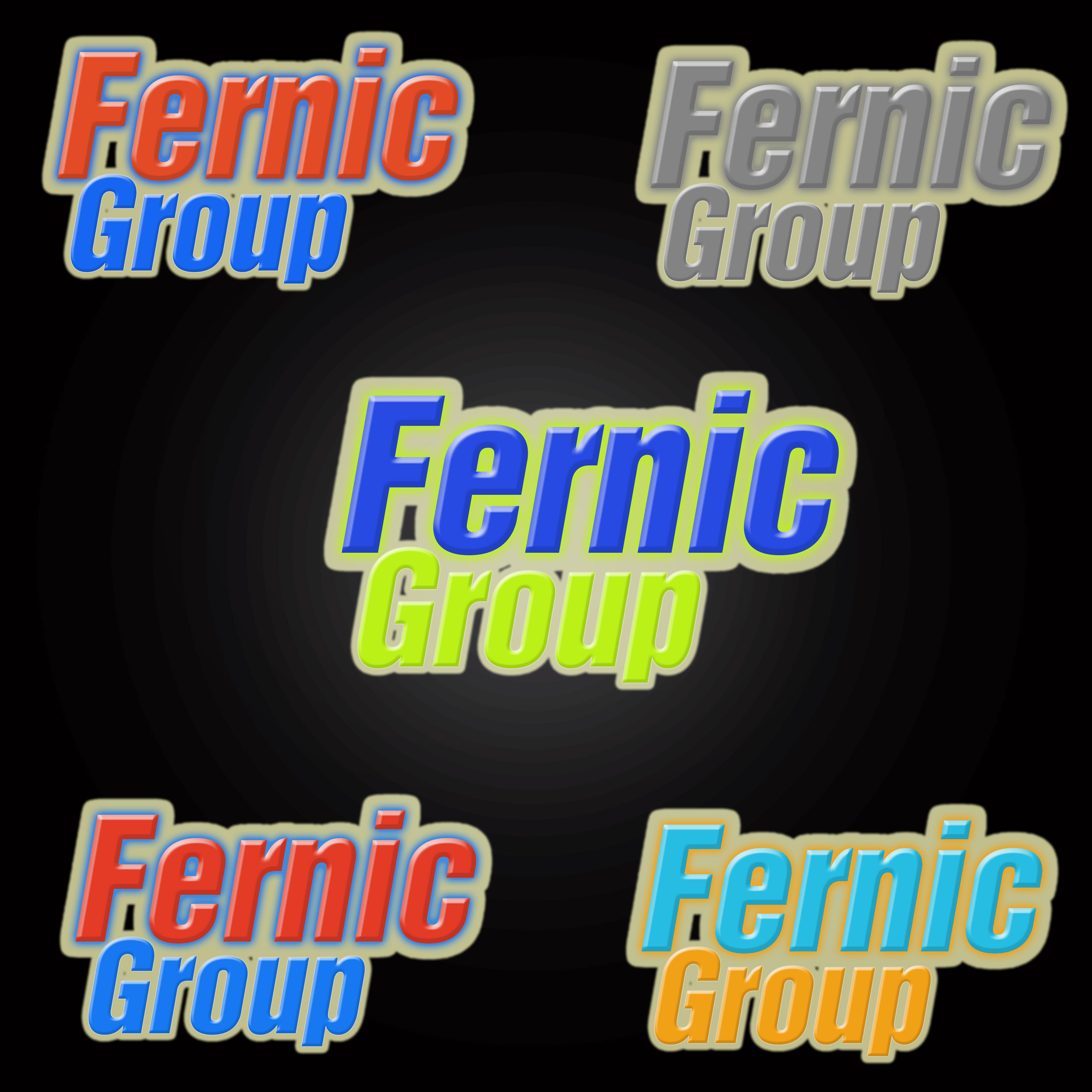 Logo Design by Roberto Sibbaluca - Entry No. 27 in the Logo Design Contest Artistic Logo Design for Fernic Goup.