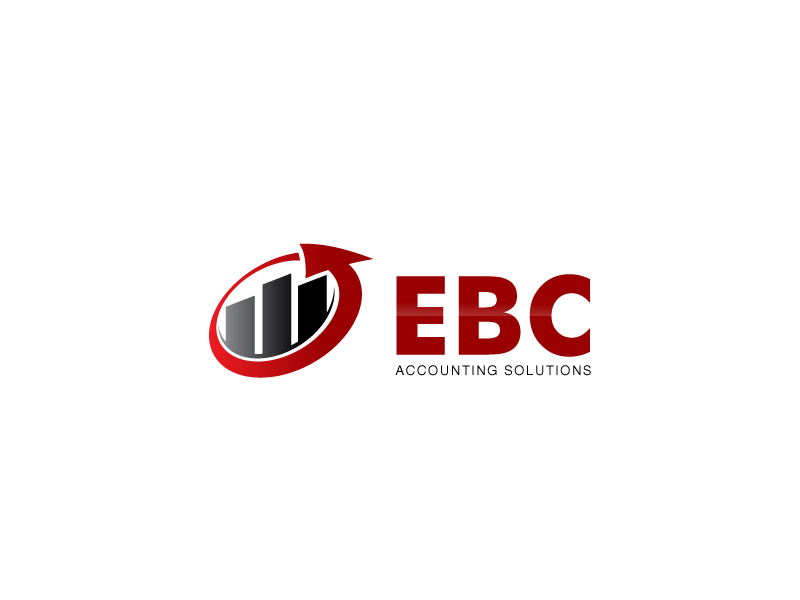 Logo Design by Joeffrey Fajardo - Entry No. 52 in the Logo Design Contest New Logo Design for EBC Accounting Solutions.