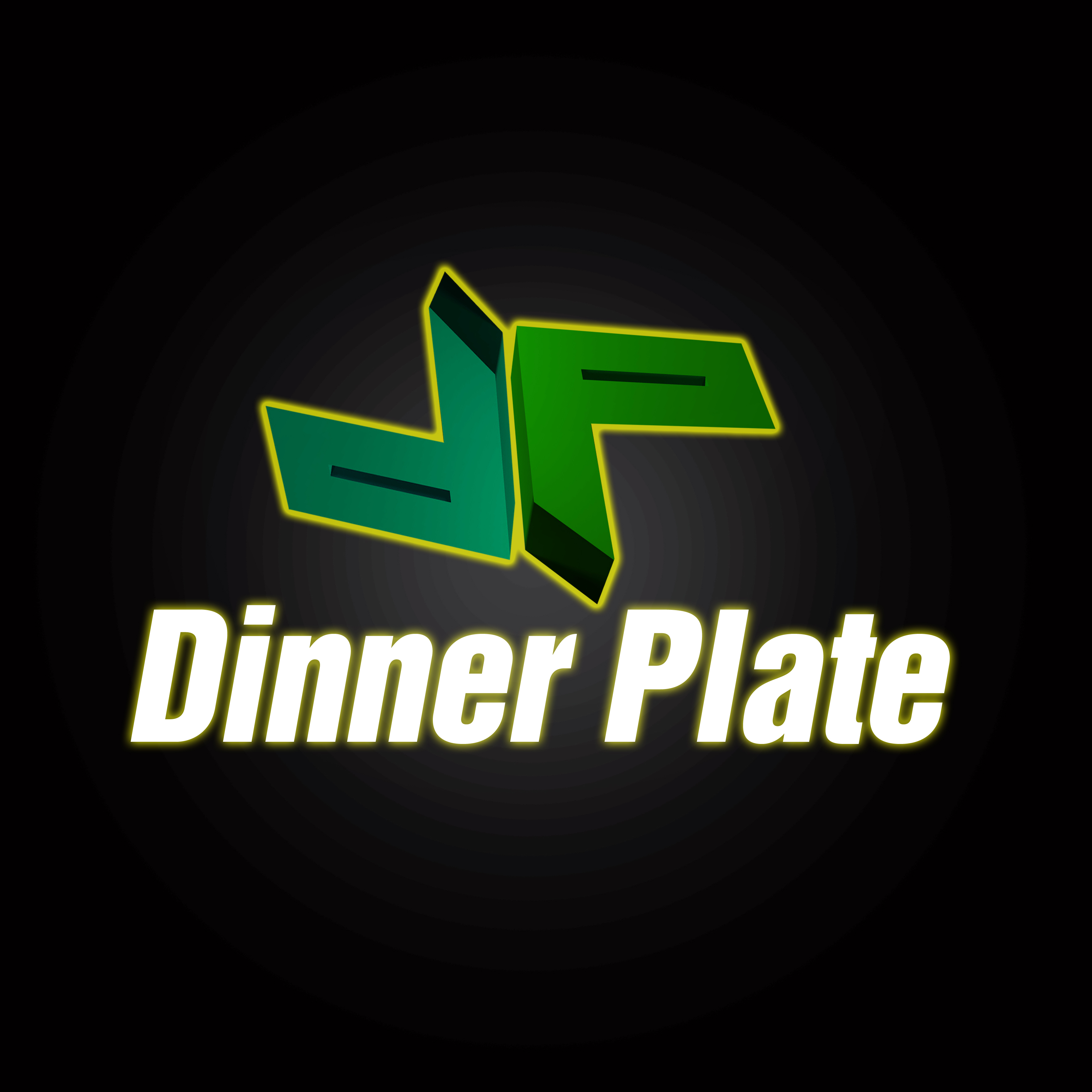 Logo Design by Roberto Sibbaluca - Entry No. 61 in the Logo Design Contest Imaginative Logo Design for Dinner Plate.
