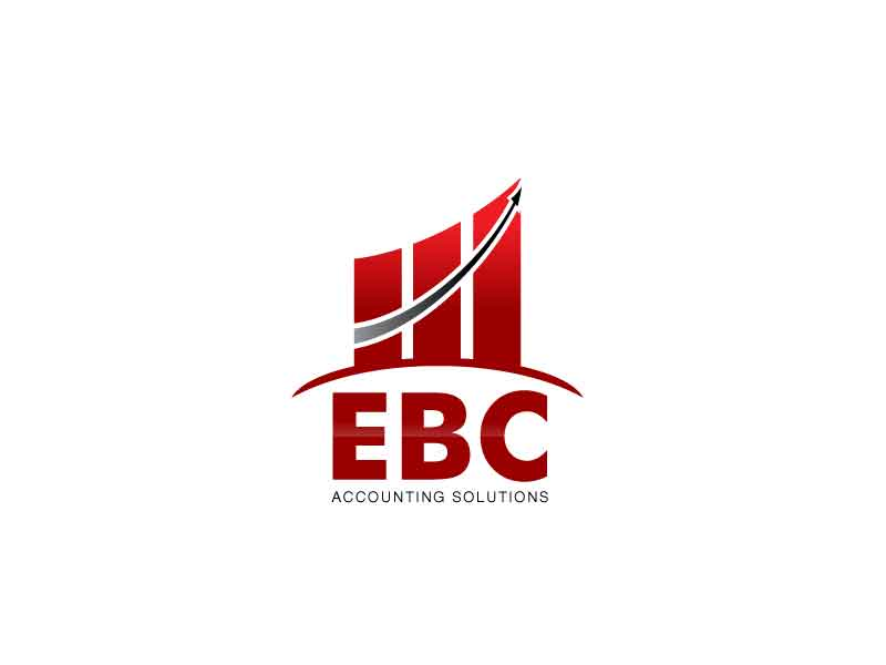 Logo Design by Joeffrey Fajardo - Entry No. 53 in the Logo Design Contest New Logo Design for EBC Accounting Solutions.