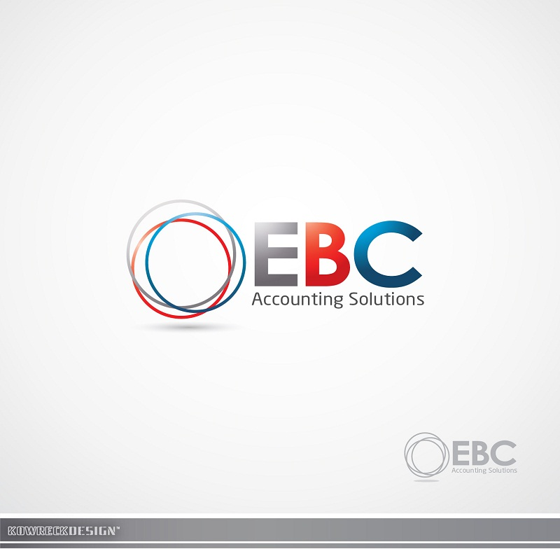 Logo Design by kowreck - Entry No. 54 in the Logo Design Contest New Logo Design for EBC Accounting Solutions.