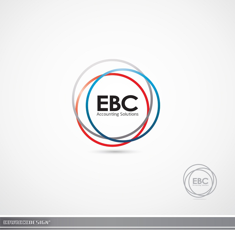 Logo Design by kowreck - Entry No. 55 in the Logo Design Contest New Logo Design for EBC Accounting Solutions.