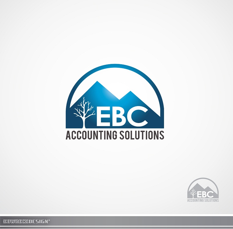Logo Design by kowreck - Entry No. 56 in the Logo Design Contest New Logo Design for EBC Accounting Solutions.