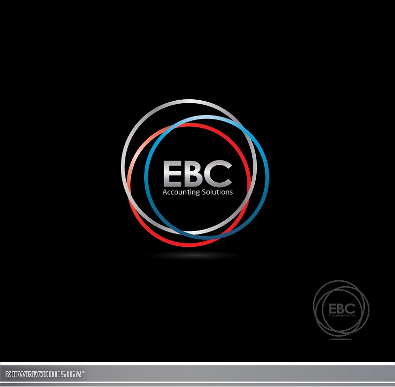 Logo Design by kowreck - Entry No. 57 in the Logo Design Contest New Logo Design for EBC Accounting Solutions.