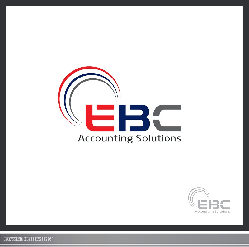 Logo Design by kowreck - Entry No. 58 in the Logo Design Contest New Logo Design for EBC Accounting Solutions.
