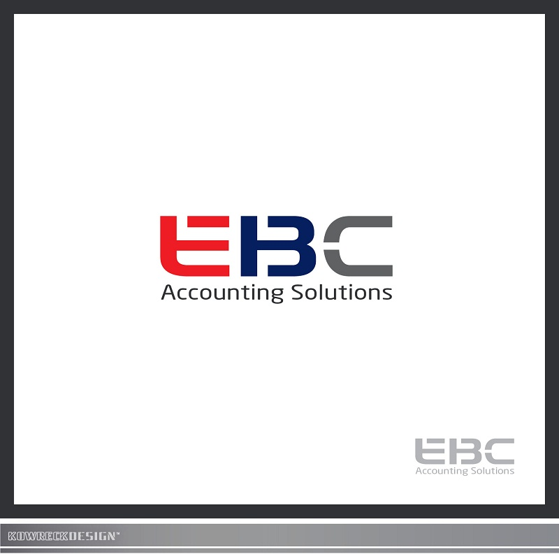 Logo Design by kowreck - Entry No. 59 in the Logo Design Contest New Logo Design for EBC Accounting Solutions.