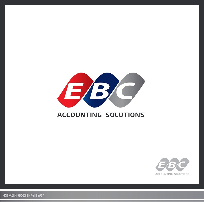 Logo Design by kowreck - Entry No. 60 in the Logo Design Contest New Logo Design for EBC Accounting Solutions.