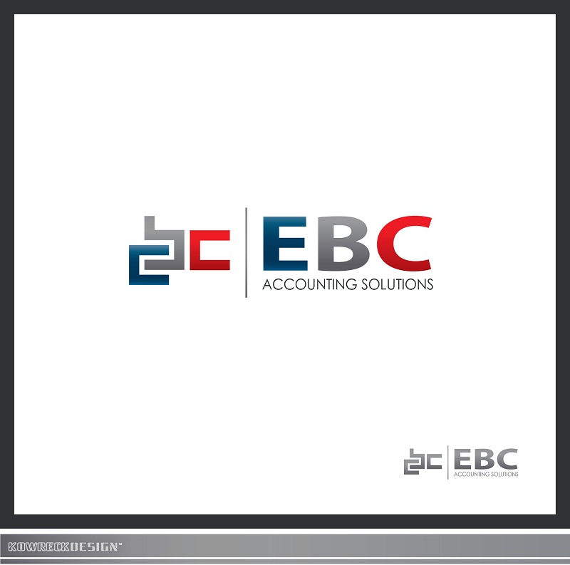Logo Design by kowreck - Entry No. 61 in the Logo Design Contest New Logo Design for EBC Accounting Solutions.