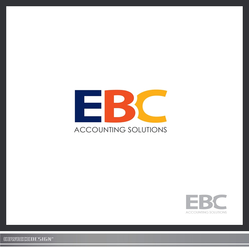 Logo Design by kowreck - Entry No. 62 in the Logo Design Contest New Logo Design for EBC Accounting Solutions.