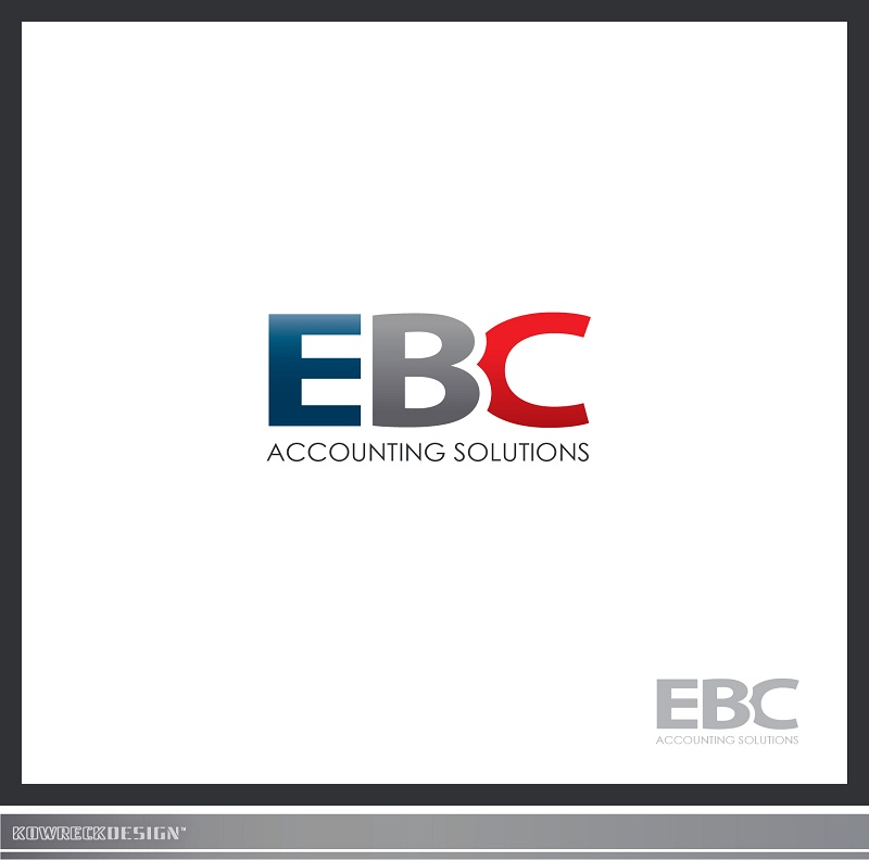 Logo Design by kowreck - Entry No. 63 in the Logo Design Contest New Logo Design for EBC Accounting Solutions.