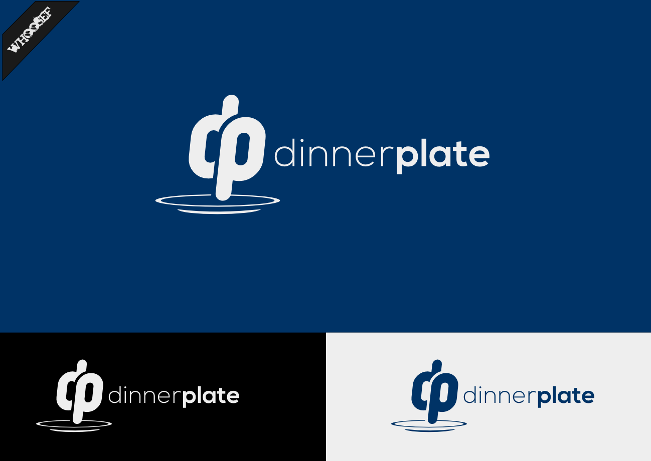 Logo Design by whoosef - Entry No. 67 in the Logo Design Contest Imaginative Logo Design for Dinner Plate.