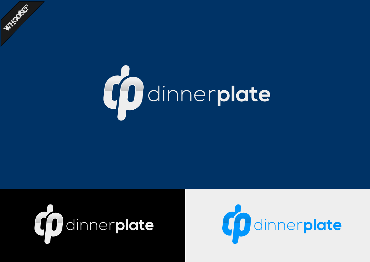 Logo Design by whoosef - Entry No. 68 in the Logo Design Contest Imaginative Logo Design for Dinner Plate.