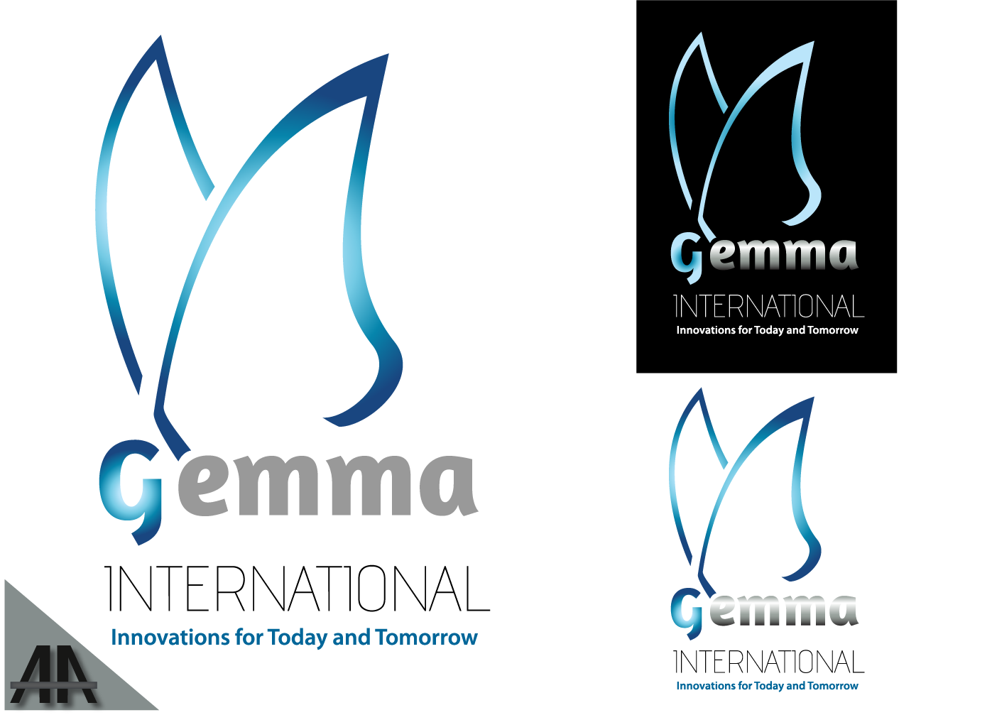 Logo Design by Thanasis Athanasopoulos - Entry No. 76 in the Logo Design Contest Artistic Logo Design for Gemma International.