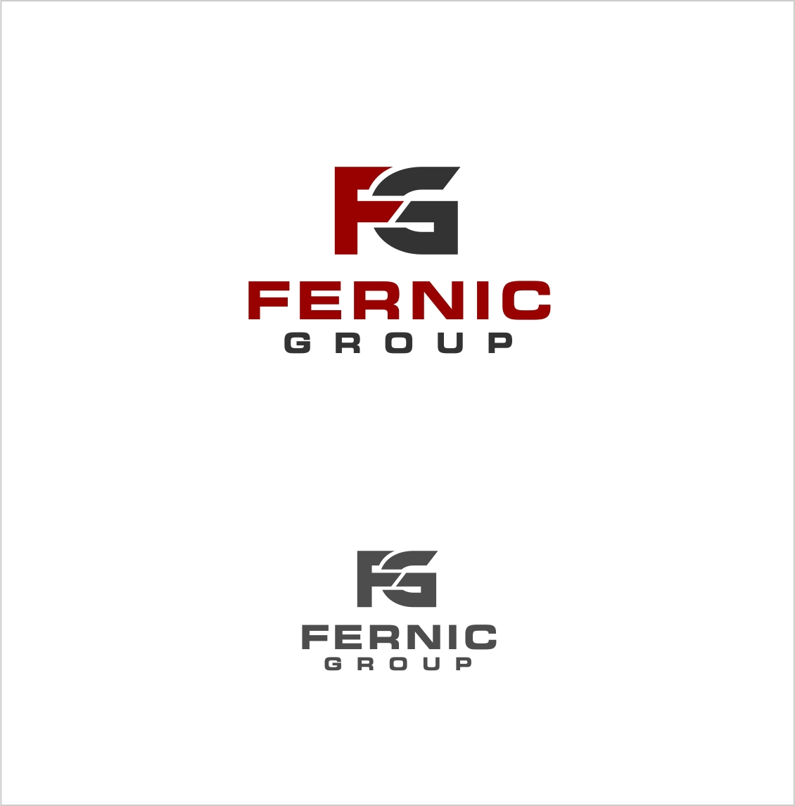 Logo Design by haidu - Entry No. 31 in the Logo Design Contest Artistic Logo Design for Fernic Goup.