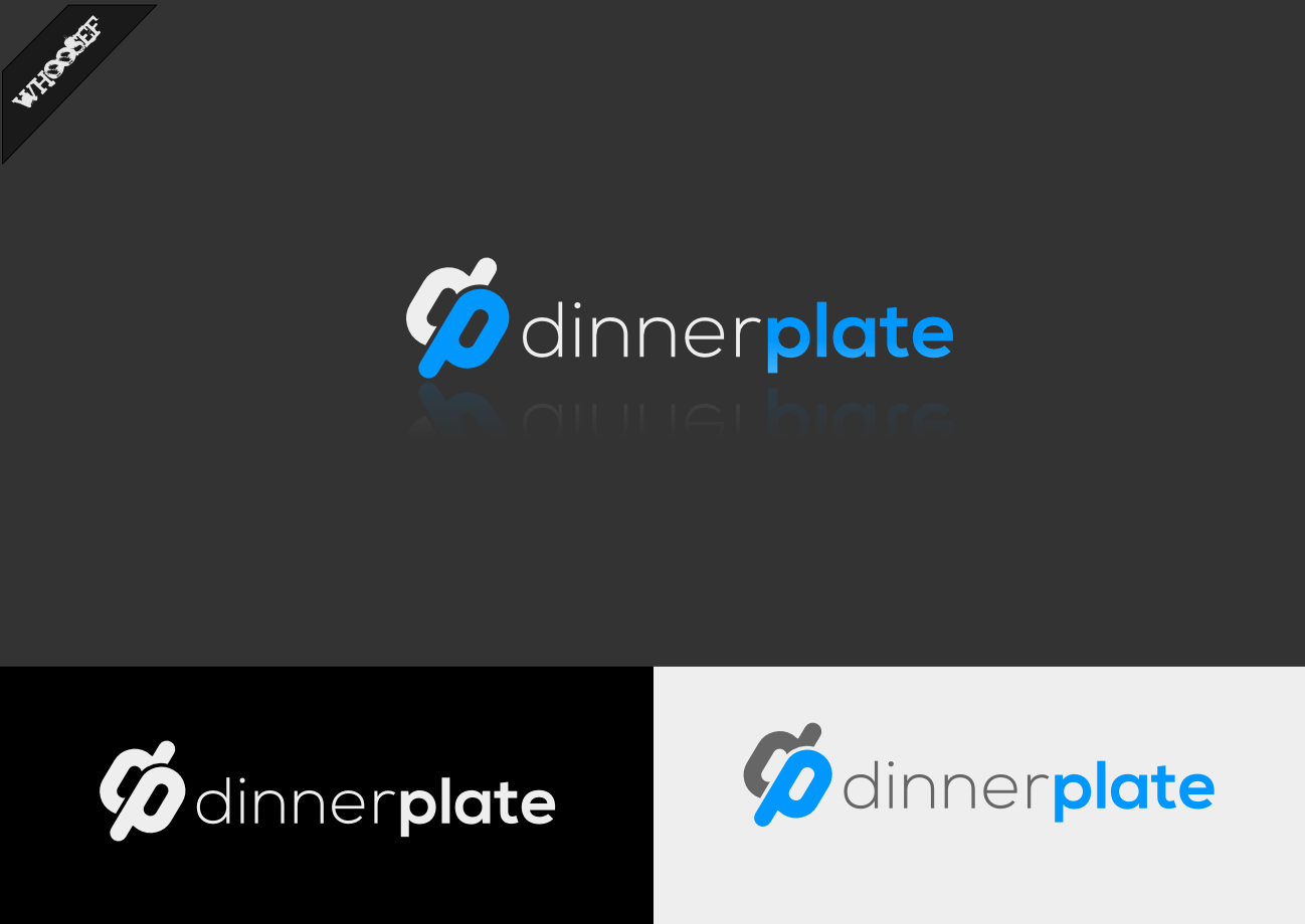 Logo Design by whoosef - Entry No. 70 in the Logo Design Contest Imaginative Logo Design for Dinner Plate.