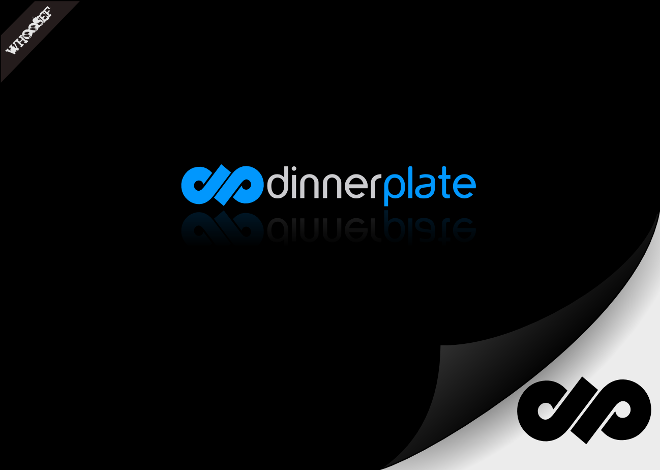 Logo Design by whoosef - Entry No. 71 in the Logo Design Contest Imaginative Logo Design for Dinner Plate.