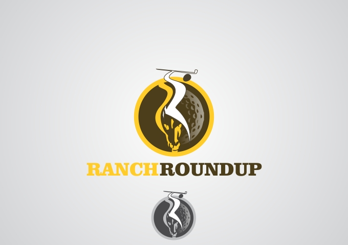 Logo Design by Rizwan Saeed - Entry No. 14 in the Logo Design Contest Captivating Logo Design for Ranch Roundup.