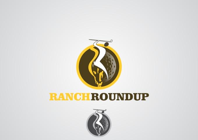 Logo Design by Rizwan Saeed - Entry No. 14 in the Logo Design Contest Captivating Logo Design for Ranch Roundup.