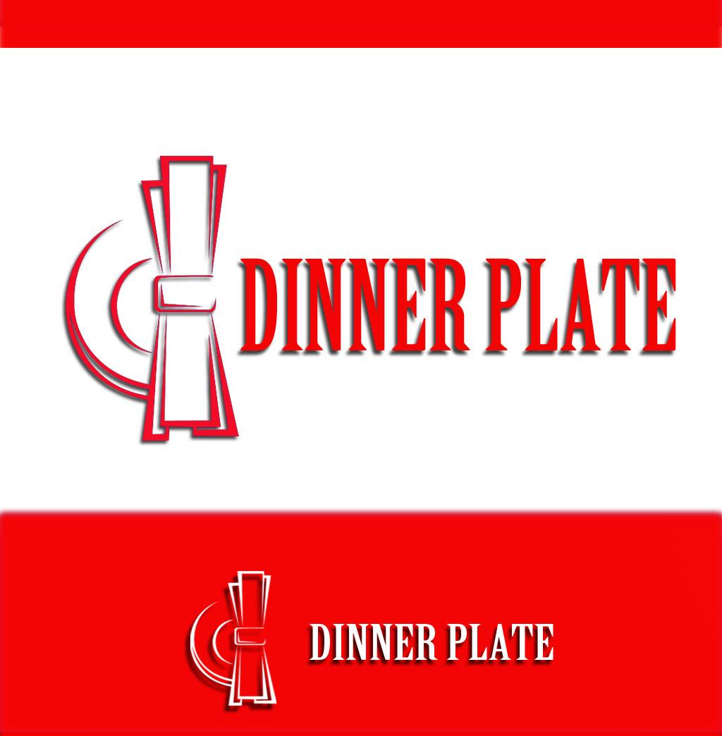 Logo Design by Geet Sharma - Entry No. 74 in the Logo Design Contest Imaginative Logo Design for Dinner Plate.