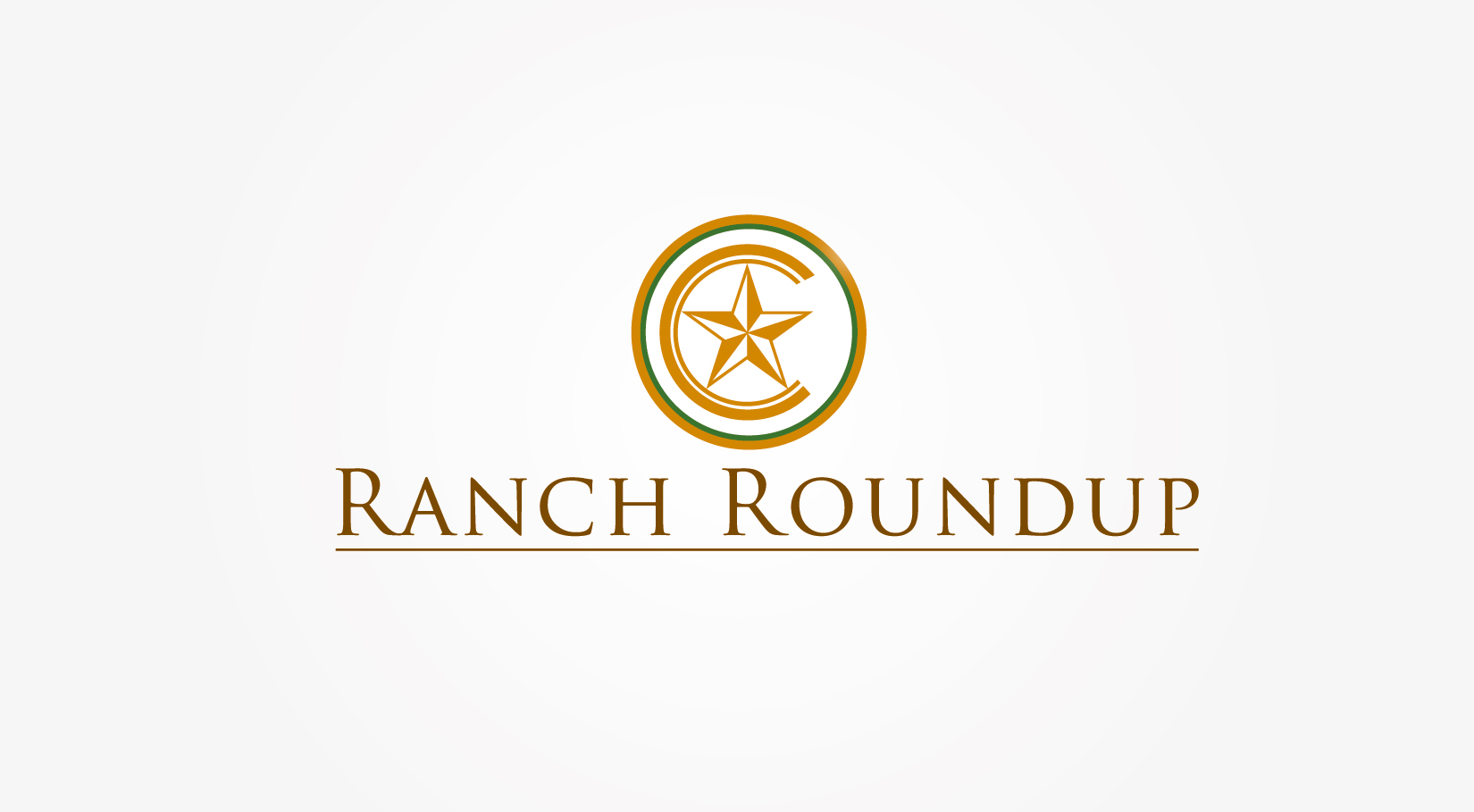 Logo Design by VENTSISLAV KOVACHEV - Entry No. 16 in the Logo Design Contest Captivating Logo Design for Ranch Roundup.