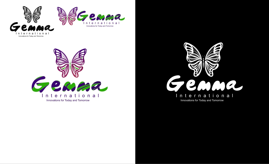 Logo Design by Private User - Entry No. 82 in the Logo Design Contest Artistic Logo Design for Gemma International.