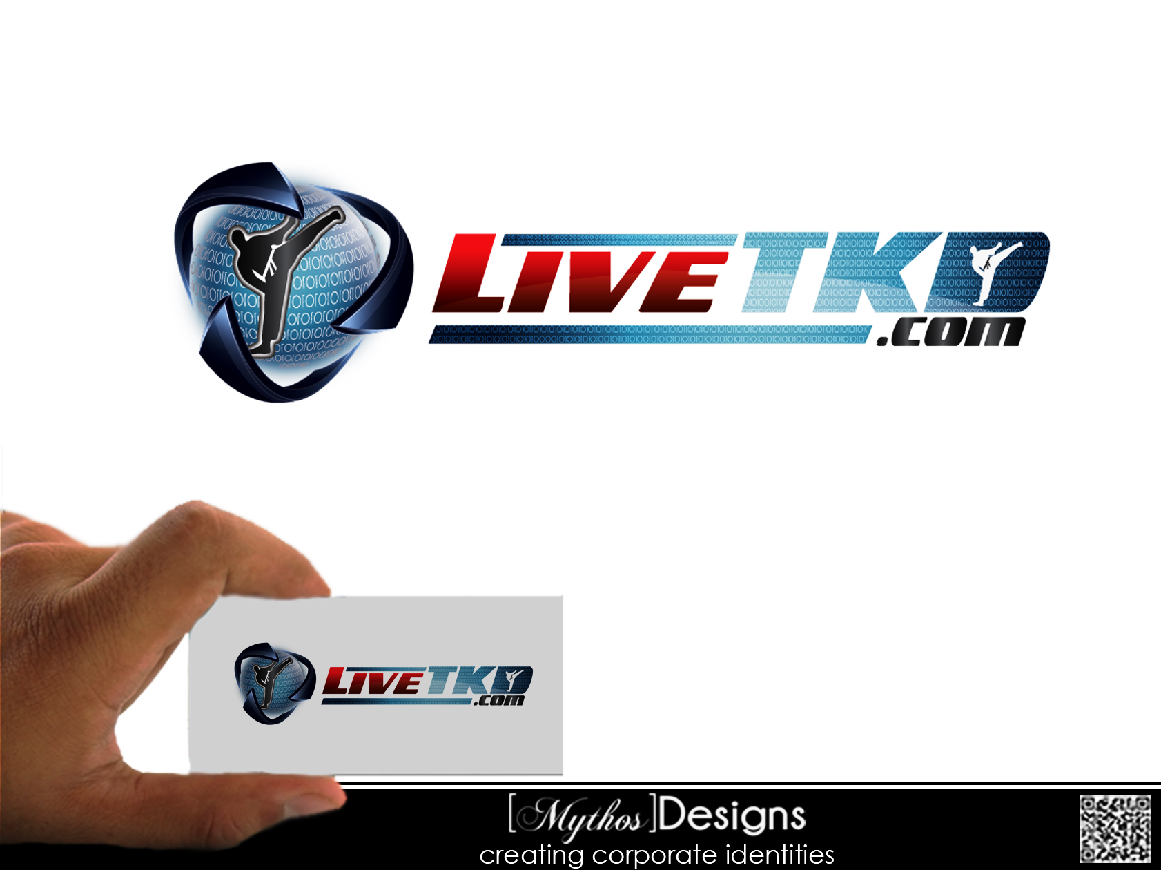 Logo Design by Mythos Designs - Entry No. 75 in the Logo Design Contest New Logo Design for LiveTKD.com.
