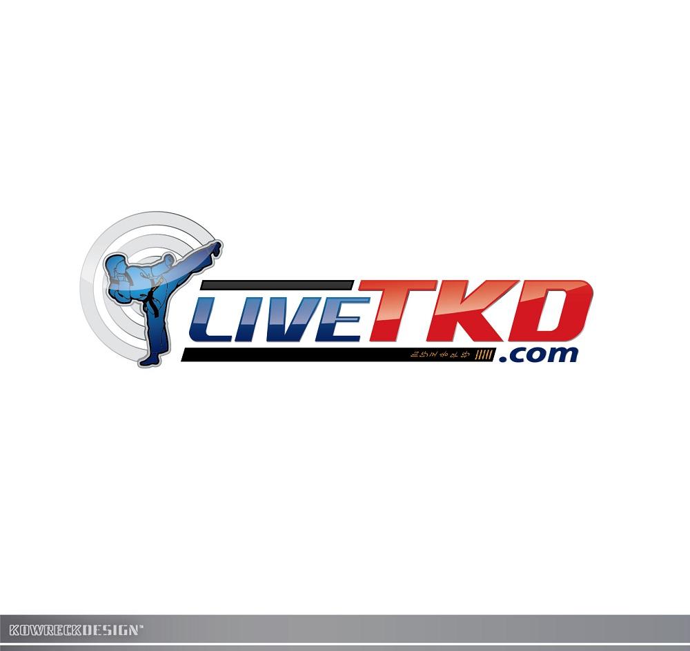 Logo Design by kowreck - Entry No. 77 in the Logo Design Contest New Logo Design for LiveTKD.com.