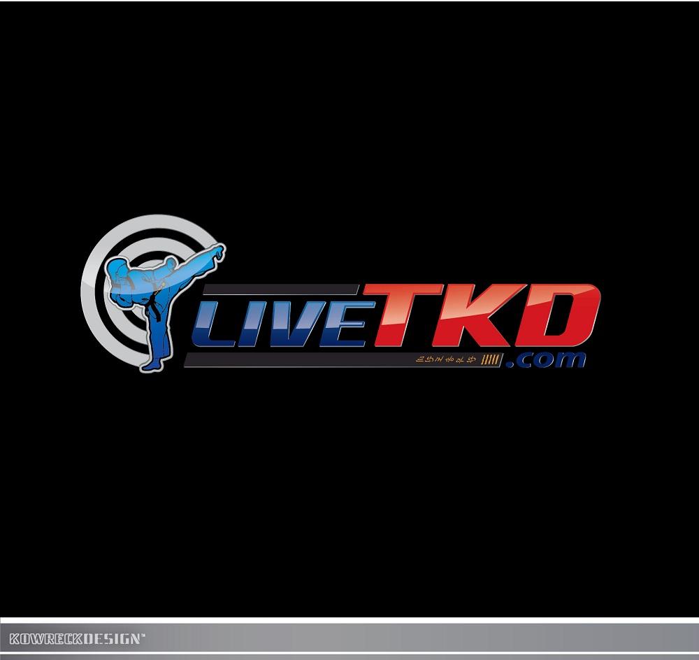 Logo Design by kowreck - Entry No. 78 in the Logo Design Contest New Logo Design for LiveTKD.com.