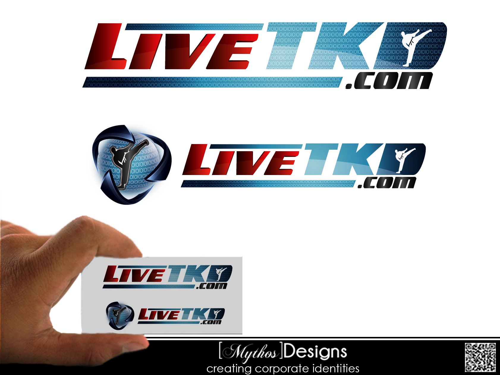 Logo Design by Mythos Designs - Entry No. 79 in the Logo Design Contest New Logo Design for LiveTKD.com.