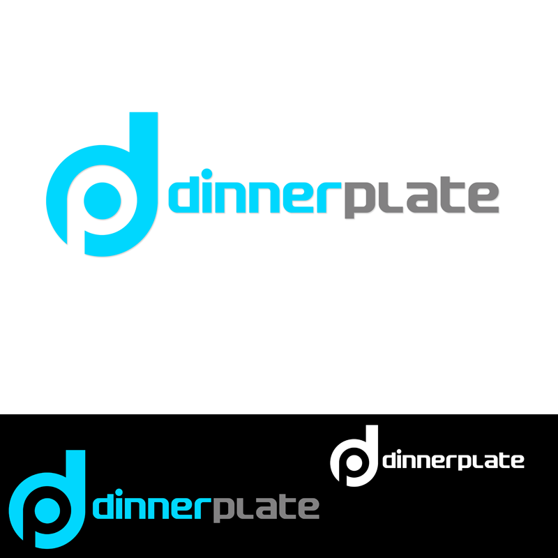 Logo Design by Robert Turla - Entry No. 76 in the Logo Design Contest Imaginative Logo Design for Dinner Plate.