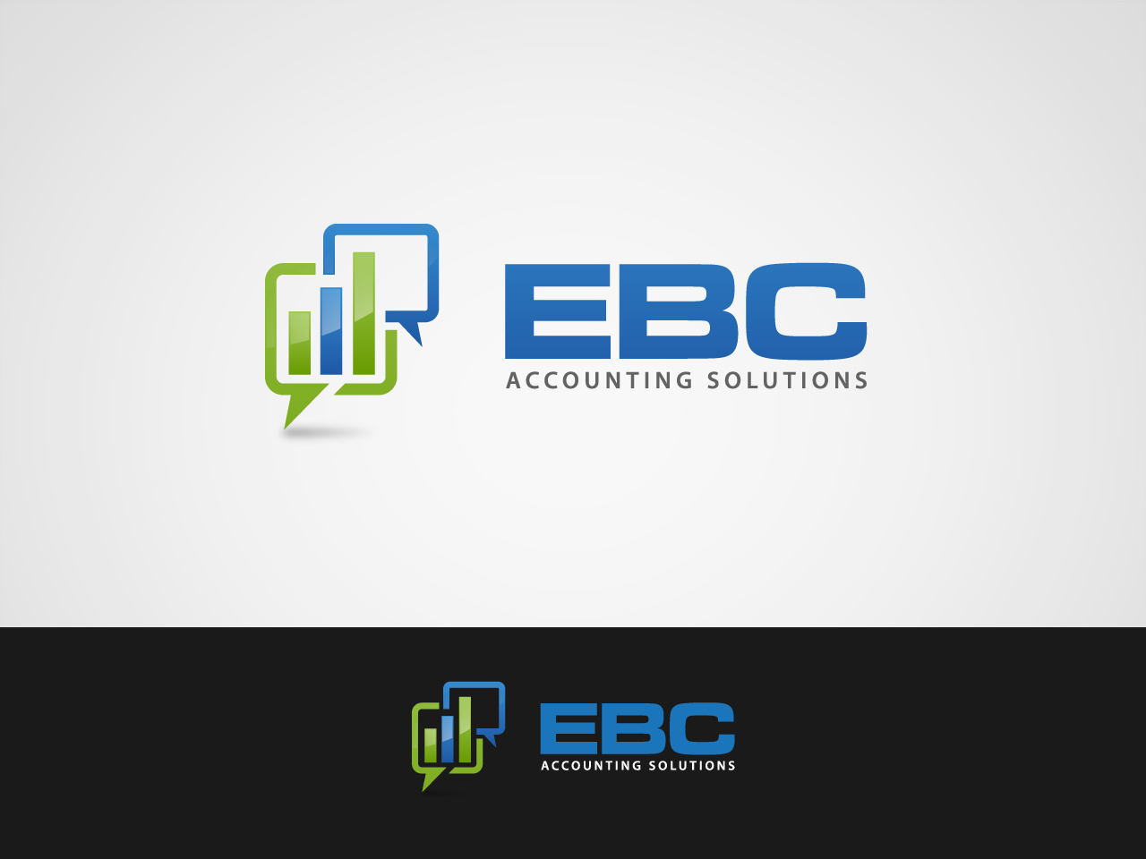 Logo Design by jpbituin - Entry No. 71 in the Logo Design Contest New Logo Design for EBC Accounting Solutions.