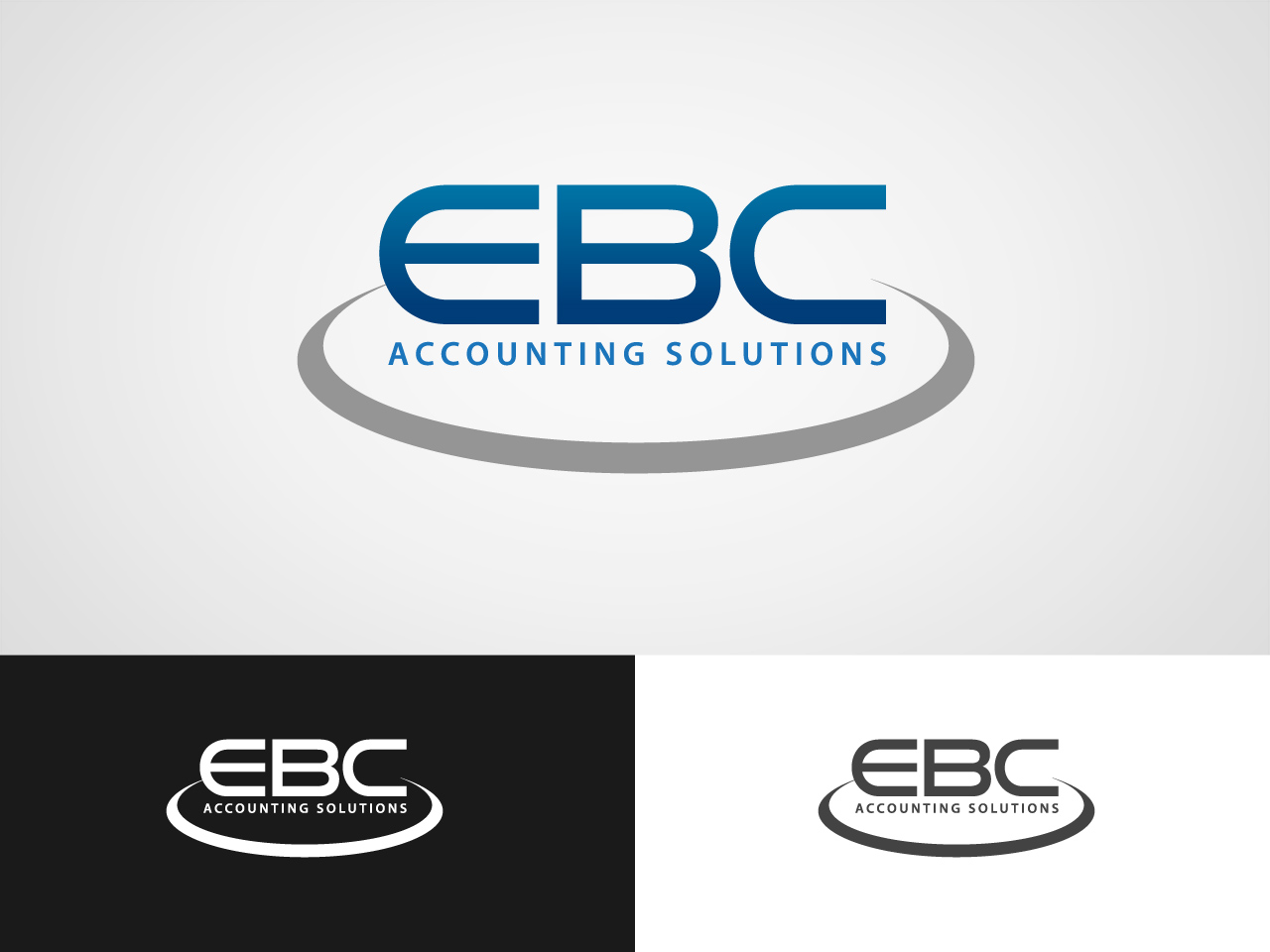 Logo Design by jpbituin - Entry No. 72 in the Logo Design Contest New Logo Design for EBC Accounting Solutions.