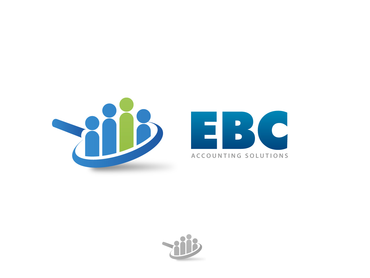 Logo Design by jpbituin - Entry No. 73 in the Logo Design Contest New Logo Design for EBC Accounting Solutions.