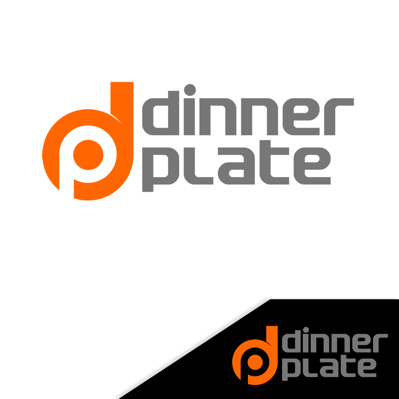 Logo Design by Private User - Entry No. 77 in the Logo Design Contest Imaginative Logo Design for Dinner Plate.