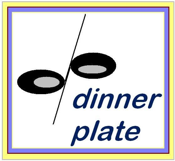 Logo Design by Mercedita Gerna-Castro - Entry No. 78 in the Logo Design Contest Imaginative Logo Design for Dinner Plate.