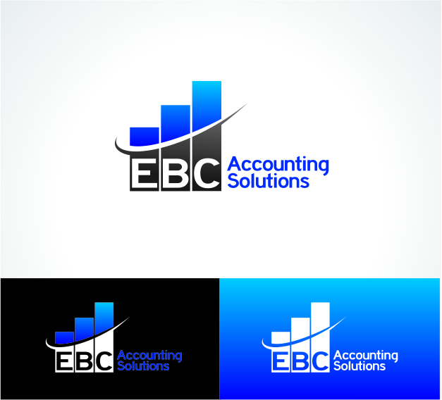 Logo Design by DENOK - Entry No. 77 in the Logo Design Contest New Logo Design for EBC Accounting Solutions.