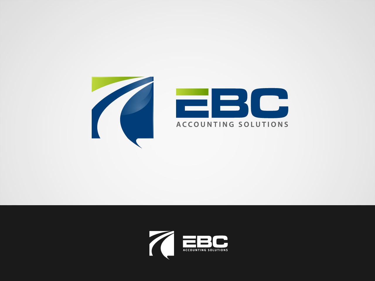 Logo Design by jpbituin - Entry No. 78 in the Logo Design Contest New Logo Design for EBC Accounting Solutions.