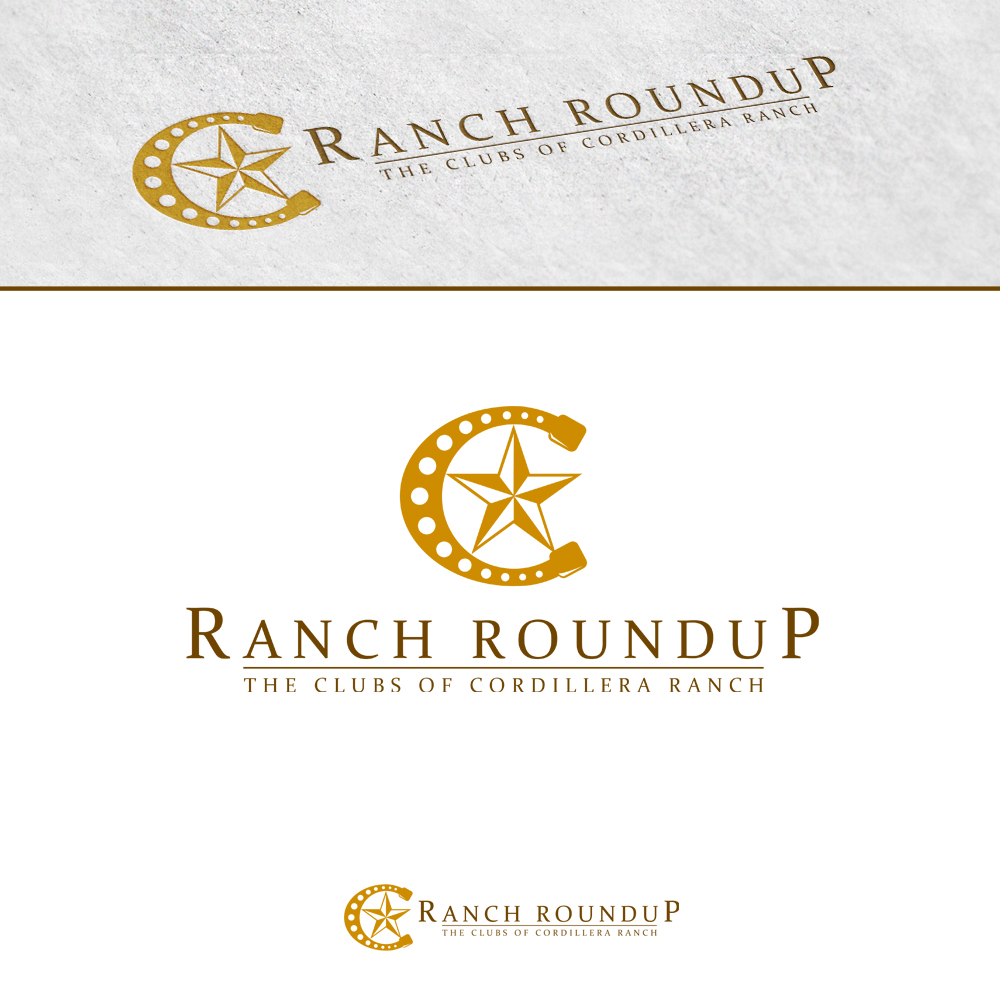 Logo Design by omARTist - Entry No. 17 in the Logo Design Contest Captivating Logo Design for Ranch Roundup.