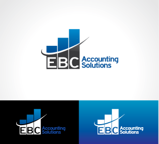 Logo Design by DENOK - Entry No. 79 in the Logo Design Contest New Logo Design for EBC Accounting Solutions.